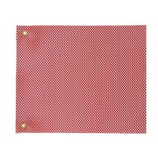 "18"" X 18"" Safety Flag Mesh W/ Grommet - Red"