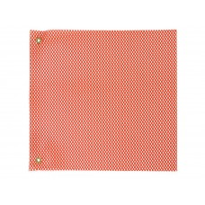"18"" X 18"" Safety Flag Mesh W/ Grommet - Orange"