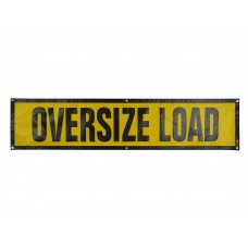 Oversize Load Sign Mesh with Grommets - Truck & Trailer