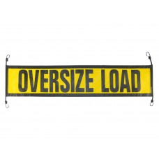 Escort Oversize Load Sign Mesh with E-Z Hook Bungees – Pilot Car