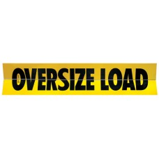 Aluminum Hinged Oversize Load Sign - Truck & Trailer
