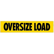 Magnetic .030 Oversize Load Sign - Truck & Trailer