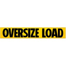 Escort Magnetic .030 Oversize Load Sign – Pilot Car