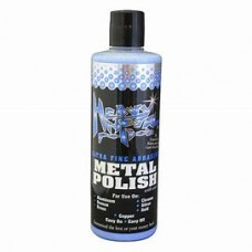 Polish, Heavy Metal Ultra Fine Abrasive Blue 16Oz