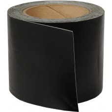 "Tarp Repair Tape, 4"" x 25' Black - Adhesive Tape Roll"