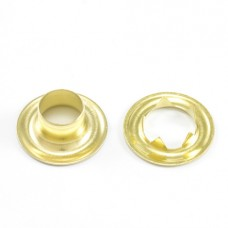 #4 Brass Tw Grommets - (144 Pcs / 1 Gross)