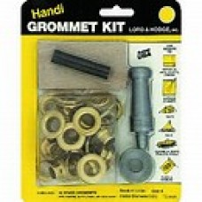 Handi Grommet Kit (#4 Brass, 12 Pcs)