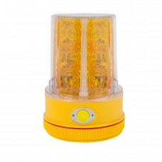 36 LED Amber Magnetic Warning Light - Battery Operated