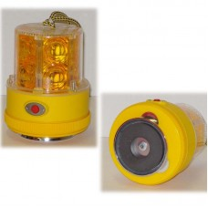 24 LED Amber Magnetic Warning Light - Battery Operated