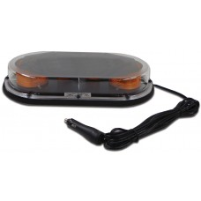"High Power LED Low Profile ""Quad-Burst"" Strobe Mini Bar - 17.25"" - Magnetic Mount"