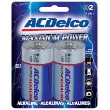D Battery AC Delco  - 2 Pack