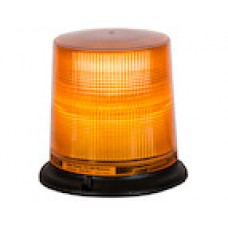 "Beacon 12 V Amber, 12 LED 6.625""T - Permanent Mount"