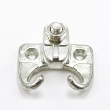 Headrod Clamp For Wood #4 Zinc 1/2 Iron
