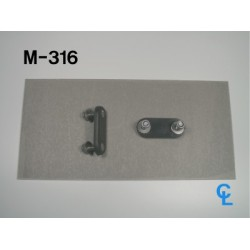 Curtain Roller and Buckle Mounting Brackets