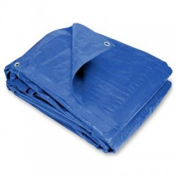 Blue Poly Lightweight, Waterproof Tarp