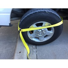 "2"" X 8' Wheel Dolly Lasso Strap - For Tires 8""W X 22""H - WLL 3,300 Lbs"