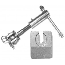 "7-1/2"" Turnbuckle Complete Assembly - Aluminum"