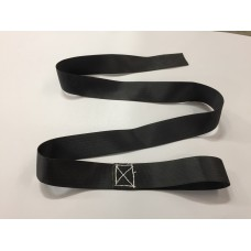 "6' Secure Strap (2"" X 6') Seat Belt Web W/ 6"" Loop - For Most Strap Type Tarps"