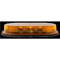 "High Power Led Low Profile ""Quad-Burst"" Strobe Mini Bar - 17.25"" - Permanent Mount"
