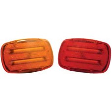 Portable Red Standard Signal Light - Regular Magnet Backing