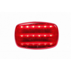 Portable Red Standard Signal Light - Magnetic