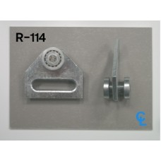 Curtain Side, UNI-Strut Track, Ball Bearing