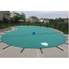Anchor 5 Star Solid Vinyl Pool Cover 14 OZ