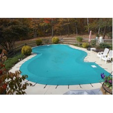 Anchor Classic Solid Vinyl Pool Cover 14 OZ