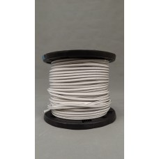 "1/4"" X 500' Roll Shock Cord - White/Black"