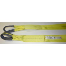 "3"" X 24' Tow Strap With Eyes - Rated WLL 18,000 Lbs"